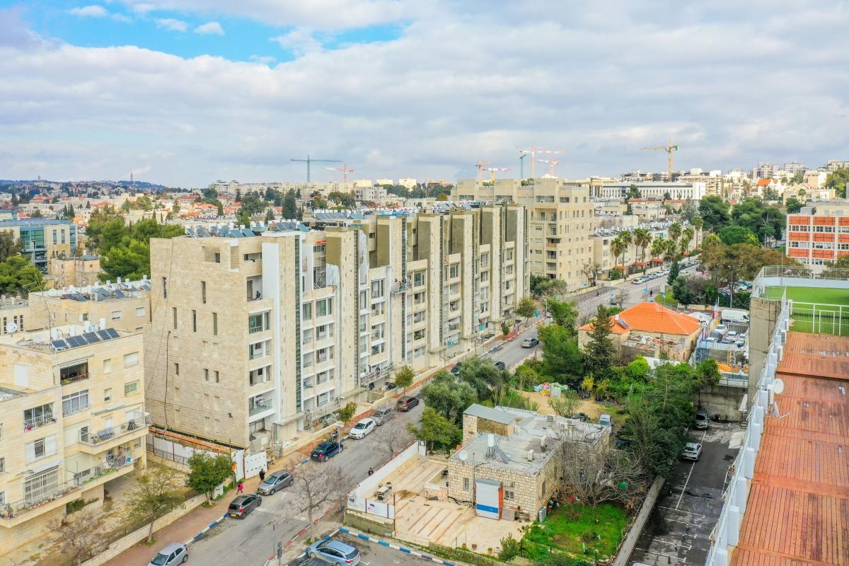 Projet TAMA 38 a Jérusalem  – Travaux de construction – Rivka 22