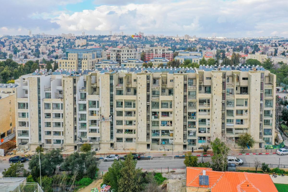 רבקה 22 - שלבי בנייה תמא 38 בירושלים