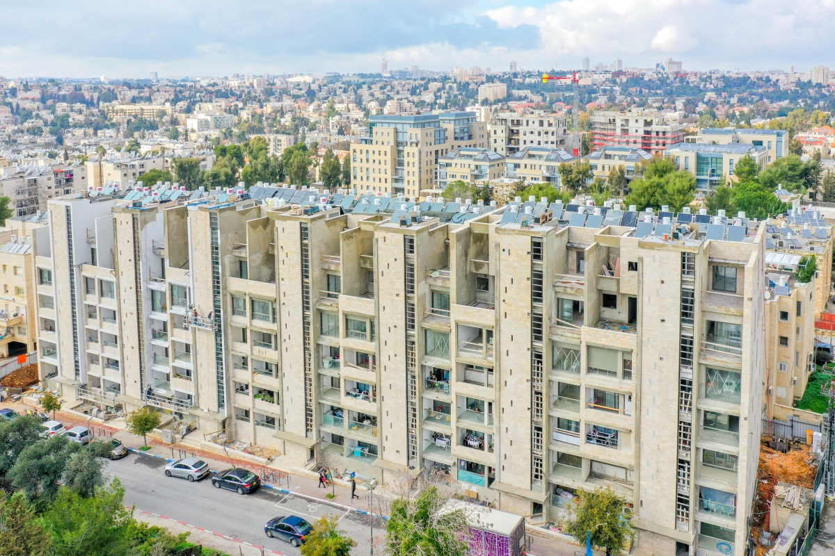 ֿ Construction work - Rivka 22, Jerusalem – Tama 38 project