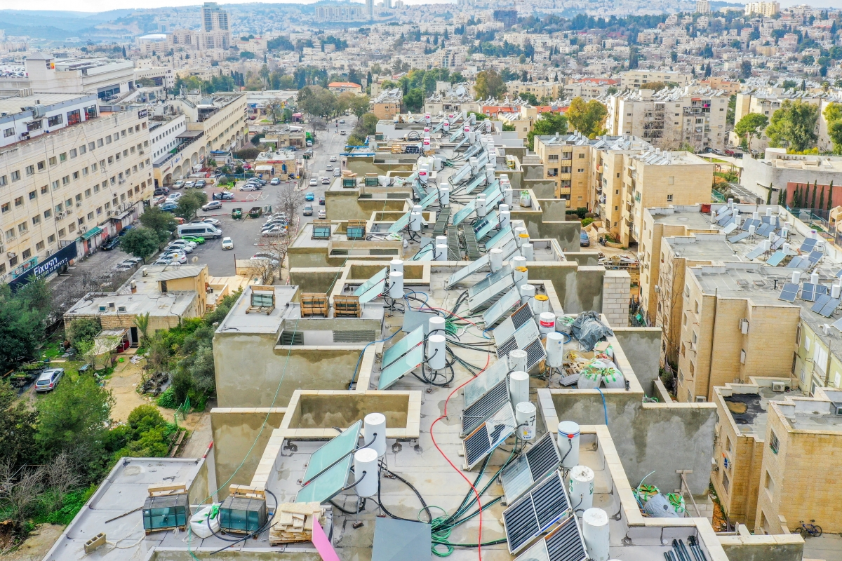 תמא 38 בירושלים - רבקה 22 - שלבי בנייה