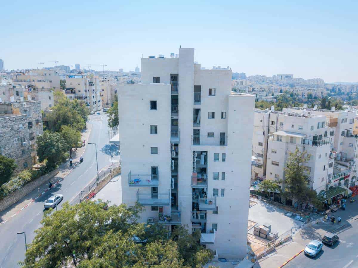"""תמ""""א 38 בירושלים - שאול המלך 63 - בשלבי עבודה"""