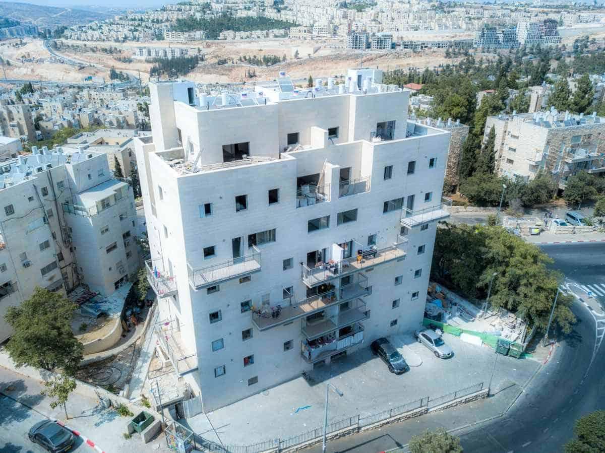 """תמ""""א 38 - שאול המלך 63, ירושלים - בשלבי בנייה"""