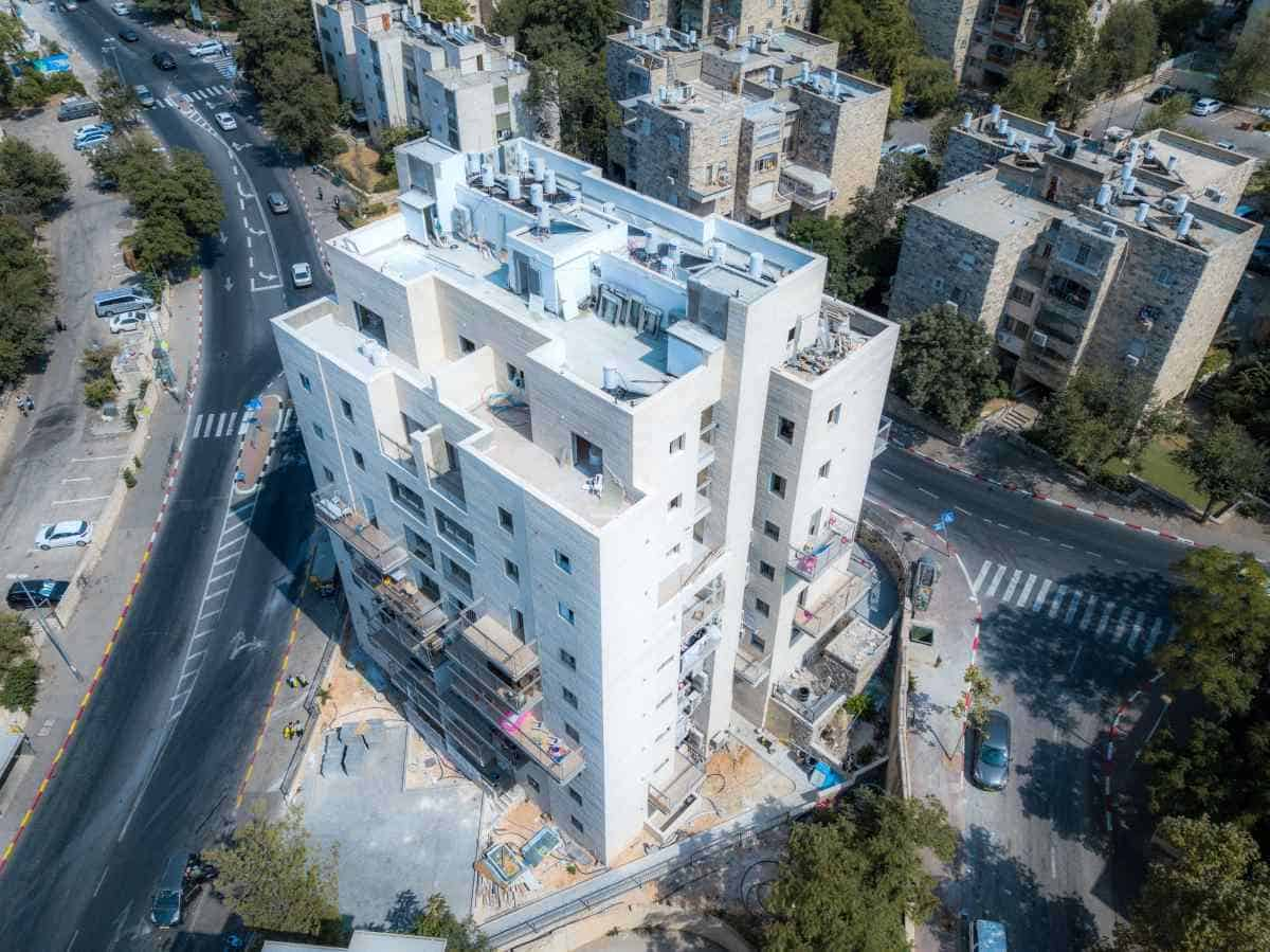 """פרויקט תמ""""א 38 בירושלים - שאול המלך 63 - בשלבי עבודה"""