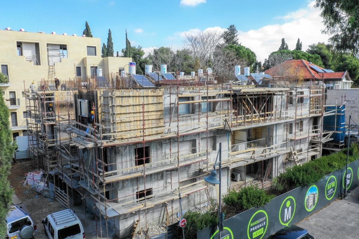 פרויקט תמ״א 38 בירושלים - דידס 6 - שלבי בנייה