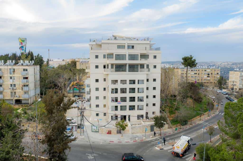 Dehomey 2 - TAMA 38 project in Jerusalem  – Construction works