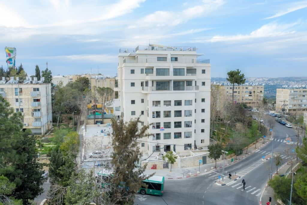TAMA 38 project in Jerusalem – Construction works -  Dehomey 2