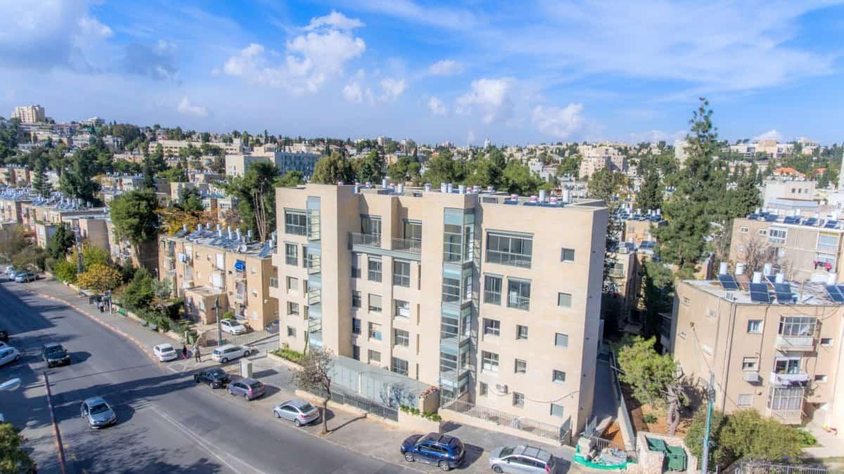 Ben Zakai 6, Jerusalem – TAMA 38 project  – Construction works