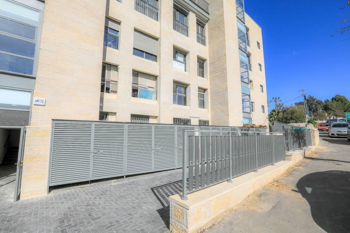 Ben Zakai 6, Jerusalem Construction works  – TAMA 38 project in Jerusalem