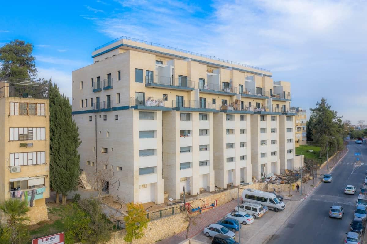 TAMA 38  in Jerusalem – Dehomey 10 – Construction works