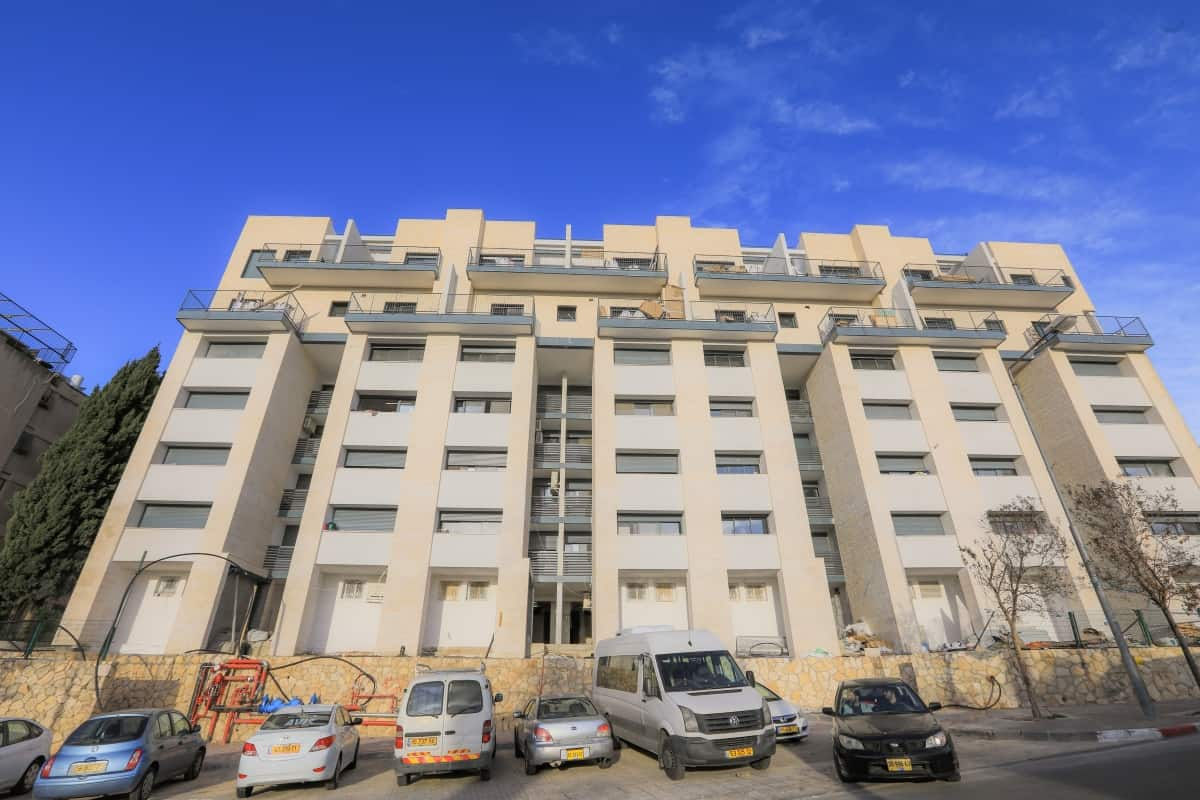 TAMA 38 project in Jerusalem -  Construction works – Dehomey 10