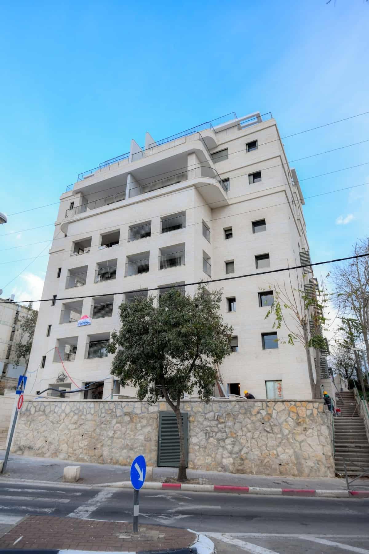 פרויקט תמ״א 38 בירושלים - שלבי בנייה - דהומיי 2
