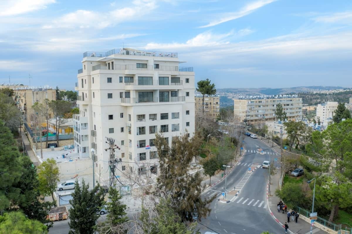 TAMA 38 project in Jerusalem  - Construction works – Dehomey 2